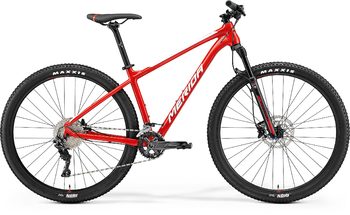 Велосипед MTB Merida Big.Nine 500 RaceRed/White (2021)