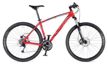 Велосипед MTB Author Traction 29 Author Red (Black / Silver) / Black (2015)