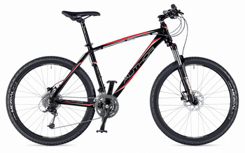 Велосипед MTB Author Traction 27.5 Phantom Black (Racing Red / Silver) matte / Black matte (2015)