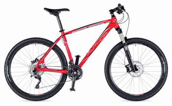Велосипед MTB Author Vision 27.5 Red (Black / Silver) / Black (2015)