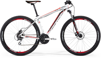 Велосипед MTB Merida BIG.NINE 20-D WHITE (BLACK/RED) (2015)