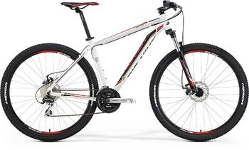 Велосипед MTB Merida BIG.NINE 20-MD WHITE (BLACK/RED) (2015)