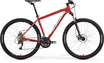 Велосипед MTB Merida Big.Nine 40-MD Red (white/black) (2015)