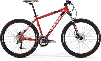 Велосипед MTB Merida Big.Seven 40 Red (white/black) (2015)