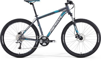 Велосипед MTB Merida Big.Seven 70 Matt Anthracite (white/blue) (2015)