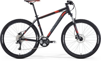 Велосипед MTB Merida Big.Seven 70 Matt Black (dk. grey/signal red) (2015)