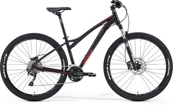 Велосипед MTB Merida Juliet 7.500 Matt Black (signal red/dk.grey) (2015)