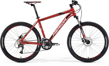 Велосипед MTB Merida Matts 6.40-D Red (white/black) (2015)