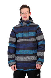Куртка Burton TWC GREENLIGHT JACKET TRUE BLACK MICRO STRIPE (2015)