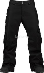 Штаны Burton CARGO SHRT PANTS TRUE BLACK (2015)
