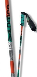 Палки горнолыжные Salomon Poles Hacker Orange/Green (2015)