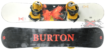 Комплект Б/У Burton Progression 156W (2014)