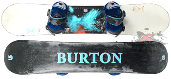 Комплект Б/У Burton Progression 142 (2014)