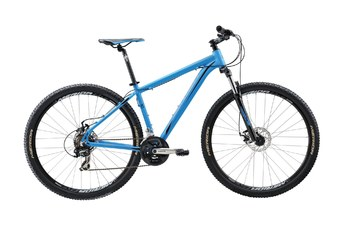Велосипед MTB Merida BIG.NINE 10-MD Matt Blue (black) (2016)