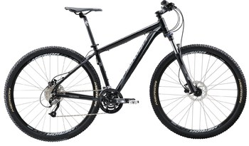 Велосипед MTB Merida BIG.NINE 40-D Matt Black(Grey) (2016)