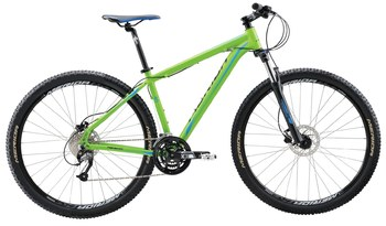 Велосипед MTB Merida BIG.NINE 40-D Matt Green(Blue/Black) (2016)