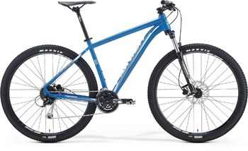 Велосипед MTB Merida BIG.NINE 100 Matt Blue(White) (2016)