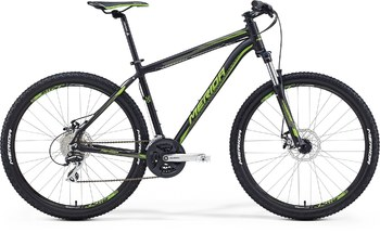 Велосипед MTB Merida BIG.SEVEN 20-MD Matt Black(Green) (2016)