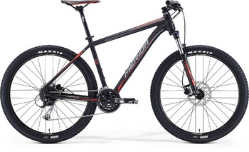 Велосипед MTB Merida Big.Seven 100 Matt Black(Signal red/Grey) (2016)