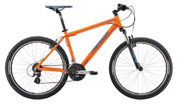 Велосипед MTB Merida Matts 6.10-V Matt Orange(Blue) (2016)