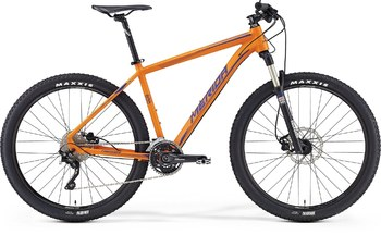 Велосипед MTB Merida Big.Seven 600 Matt Orange (Blue) (2016)