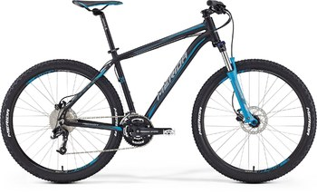 Велосипед MTB Merida Big.Seven 70 Matt Black (Blue/Grey) (2016)