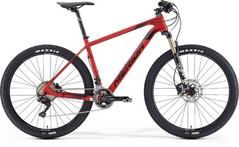 Велосипед MTB Merida Big.Seven XT Red (Black) (2016)