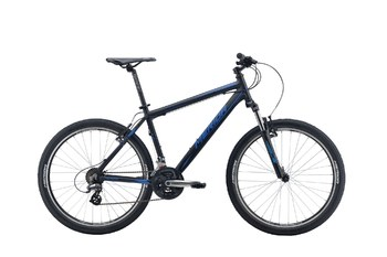 Велосипед MTB Merida Matts 6.10-V Matt Black (Blue) (2016)