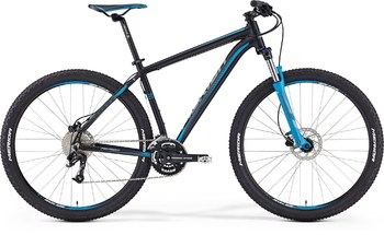 Велосипед MTB Merida Big.Nine 70 Matt-Black(Blue/Grey) (2016)