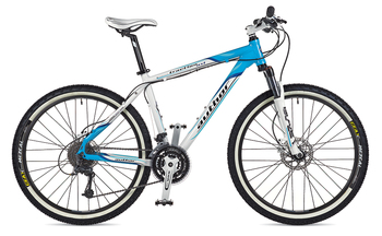 Велосипед MTB Author Traction ASL White/Blue (2013)