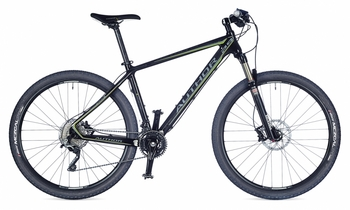 Велосипед MTB Author Revolt 29 Black/Green (2015)