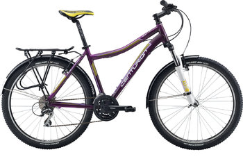 Велосипед MTB Centurion Eve 40.26 EQ (Matt Purple/white/white) (2016)