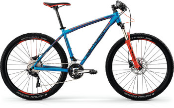 Велосипед MTB Centurion Backfire PRO 600.27 Electric Blue(Red/Black) (2016)