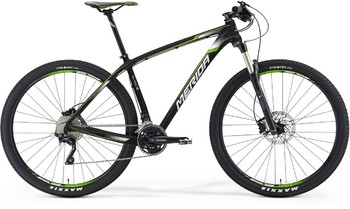 Велосипед MTB Merida Big.Nine SE Matt-UD-Carbon(Green/White) (2016)