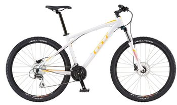 Велосипед MTB GT AVALANCHE DISC WOMEN White (2016)