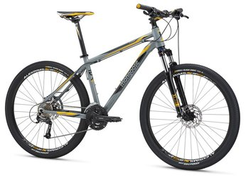 Велосипед MTB Mongoose TYAX COMP Gray (2016)