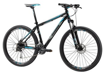 Велосипед MTB Mongoose TYAX COMP 27.5 Black / Blue (2015)