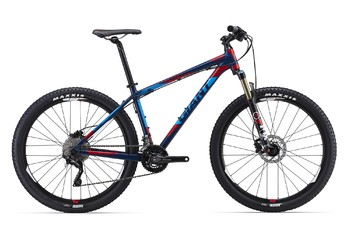 Велосипед MTB Giant Talon 27.5 0 Blue/Red (2016)