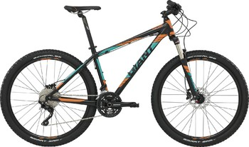 Велосипед MTB Giant Talon 27.5 2 LTD Black/Orange (2016)