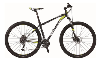 Велосипед MTB Giant Revel 29er 2 Black/Lime Green (2016)
