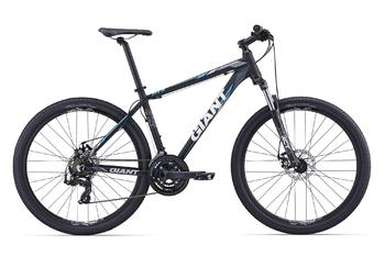 Велосипед MTB Giant ATX 27.5 2 BLACK/BLUE (2016)