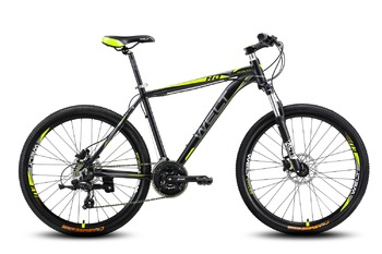 Велосипед MTB Welt Ridge 2.0 HD matt black/yellow (2016)