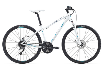 Велосипед MTB Giant Rove 2 Disc DD WHITE (2016)