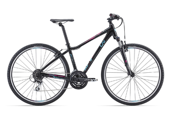 Велосипед MTB Giant Rove 3 DD Black (2016)