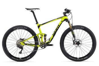 Двухподвес Giant Anthem Advanced 27.5 1 Yellow/Black (2016)