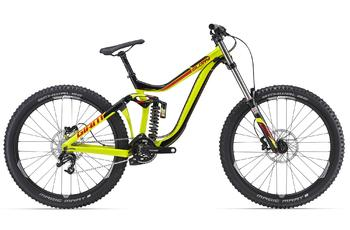 Двухподвес Giant Glory 27.5 2 Black/Yellow (2016)
