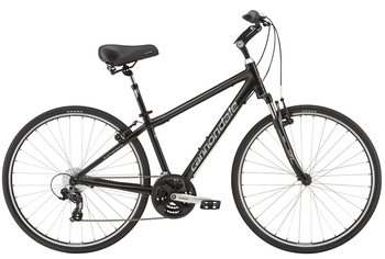 Городской велосипед Cannondale Adventure 2 Matte Black Coffe (2016)