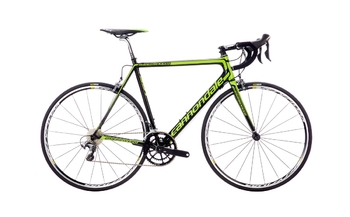 Шоссейный велосипед Cannondale Supersix EVO Hi-Mod Ultegra Green (2016)