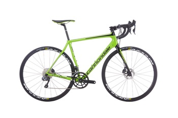 Шоссейный велосипед Cannondale Synapse Carbon Disc Ultegra DI2 Green (2016)
