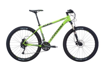 Велосипед MTB Cannondale 27.5 Trail 4 Green (2016)